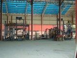 Estructura de acero para la fábrica del bloque, fábrica del bloque de cemento de la estructura de acero