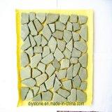 Pietra del mosaico di alta qualità sulla maglia per il disegno della stanza da bagno