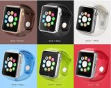 A1 Bluetooth intelligente Uhr mit dem SIM Telefon-Aufruf, Anti-Verloren, die aufspürende Aktivität, Schlaf-Überwachung, nehmen Selfie für iPhone 6 6s plus Anmerkung 5 HTC Samsung-S6 Fahrwerk