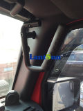 Виллис Wrangler Jk Metal Handle Black Solid Steel Grab Bar Car Accessories для Jeep