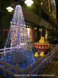 La cascada del LED Luz de Navidad Decoración del partido de Navidad