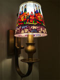 Colorful Glass Shade (SL2091-1W)のよいDesign Iron Wall Lamp