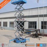 China Mobile eléctrico hidráulico de tijera para el mantenimiento de la lámpara de la calle