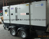 Diesel van de Generator van de aanhangwagen de Mobiele Correcte Generator van het Bewijs/Diesel Stille Genset