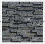 Травертина камня отверстия лавы плитка каменного серая мраморный для камня культуры стены