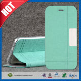 PU Flip Stand Leather Wallet Caso para el iPhone 6