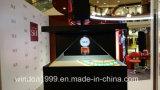 vetrina della visualizzazione dell'ologramma della casella/piramide di 3D Holo con i prezzi competitivi