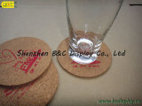 Waterdichte Hittebestendige cork-Gesteunde Onderleggers voor glazen (b&c-G071)