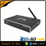 Коробка TV медиа-проигрывателя выхода Xbmc/Kodi сердечника 4k квада Android