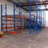 Assoalho de mezanino industrial do armazenamento do armazém resistente de Sunnyrack