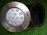 indicatori luminosi subacquei della fontana di 36W 24V LED con l'obiettivo asimmetrico (JP948122-AS)