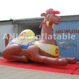 Reproducción inflable realista gigante del camello de la venta caliente