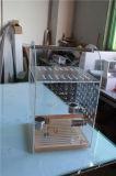 Taille moyenne de cage d'oiseau acrylique, emboîtement d'oiseau de lucite, cage d'animal familier de plexiglass