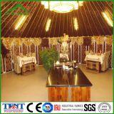 Im Freien mongolisches Yurt Luxuxzelt