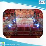 휴대용 Flexi Glass Stage Easy Move Stage Movable Stage