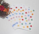 De aantrekkelijke Zakken van het Document van de Streep voor de Verpakking van het Suikergoed en van de Gift