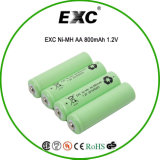 Ni Battery 800mAh 1.2V do Excni-Mh AA