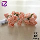 Lumière de fleur de Rose, fleur d'éclairage de LED, lumière de décoration