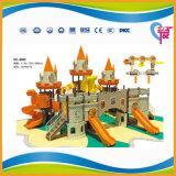 Campo da giuoco esterno attratto del castello divertente per i capretti (A-7901)
