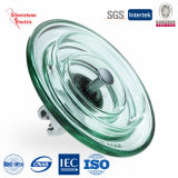 IEC do isolador do disco do isolador do vidro temperado de U120 60kn