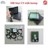 MB SD звезды C5 MB соединяет C5 для автомобиля MB и инструмента тележки диагностического с наиболее поздно средством программирования 2016.05V с компьтер-книжкой Nec готовой для использования