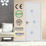 Porte intérieure en bois de chambre à coucher classique de modèle (M-MA45)