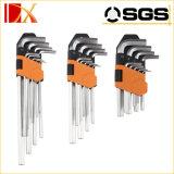 9PS установленным ключ покрынный кромом HRC48-52 Hex