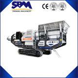 Suivre centrale mobile à commande hydraulique, Concasseur Mobile à vendre