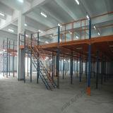 Plataforma de acero resistente industrial del almacén de almacenaje
