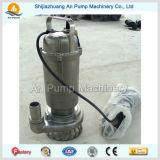 ステンレス鋼の浸水許容の下水ポンプ