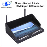 7 monitor RC708 del LCD HDMI del receptor de diversidad de la pulgada