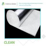 Manta blanca de las lanas de cristal del aislante de calor para los edificios de la estructura de acero