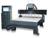 Multi router di CNC delle macchine per incidere di falegnameria delle teste