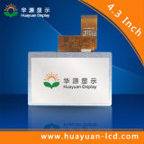 4.3inch TFT LCD 480X272 LCD TFT Soem-Bildschirmanzeige