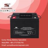 Batteries profondes de panneau solaire de la tension 70ah de la batterie 12V de gel de cycle
