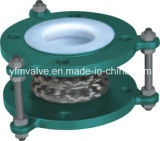 PTFE Bellows Expansion Joint com Ss304 Shell
