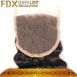 Closureの完全なCuticle Top GradeインドのHuman Hair Weave