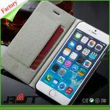 Kippen-Mappen-Kasten PU-lederner Kasten für iPhone 6 6s