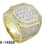 In het groot Fijne Juwelen 925 Echte Zilveren Ring