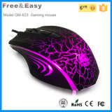 Hete 6D Ergonomic Gaming Mouse met 6 Colorful LED Show
