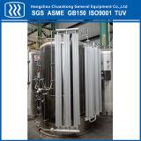 El tanque de oxígeno del acero inoxidable de líquidos criogénicos GNL GLP