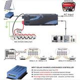 6000watt Golf van de Sinus van de omschakelaar de Zuivere, Lader, de Automatische Regelgever van het Voltage