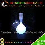 전통 중국어 빛을내는 화분 LED 꽃 화병