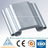 Perfil de acabamento da borda do azulejo da caixa de alumínio (prata dourada anodizada)