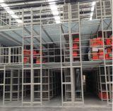 Estante de varias filas del entresuelo de la estantería de la alta calidad