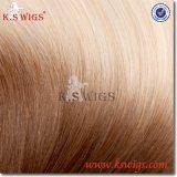 Cabelo de Remy do cabelo humano do Virgin da extensão do cabelo da fita das perucas do K.S