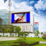 Pantalla al aire libre publicitaria flexible a todo color del alto brillo P6.25 LED