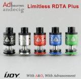 Ijoy originale Rdta illimitato più il serbatoio 6.3ml