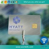 Cartão de microplaqueta esperto do contato do PVC Sle4442