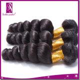 Соткать человеческих волос девственницы свободной скручиваемости Fastion сырцовый